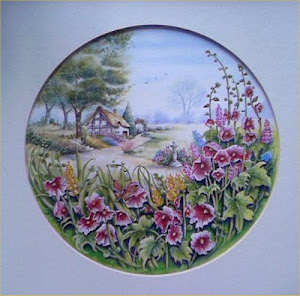 My Painting @Royal Doulton,Copyright@ R.D
