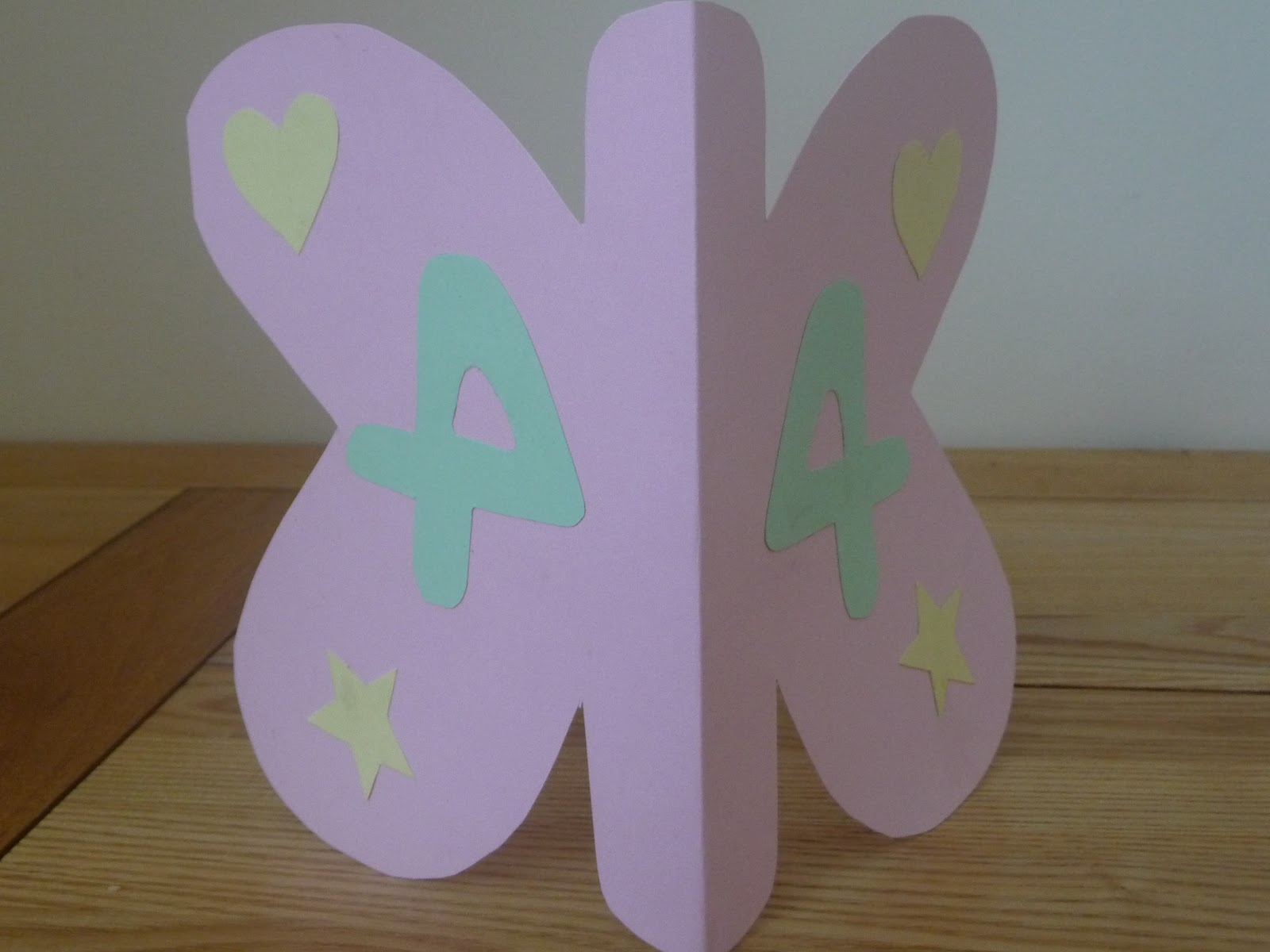 Birthday Card For A 4 Year Old Girl