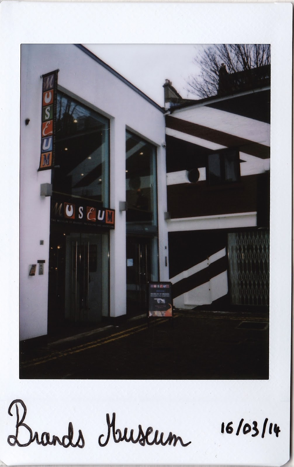 Polaroid of Brands Museum, Notting Hill
