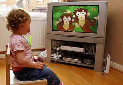 Dampak Anak Banyak Nonton TV bikin Telmi