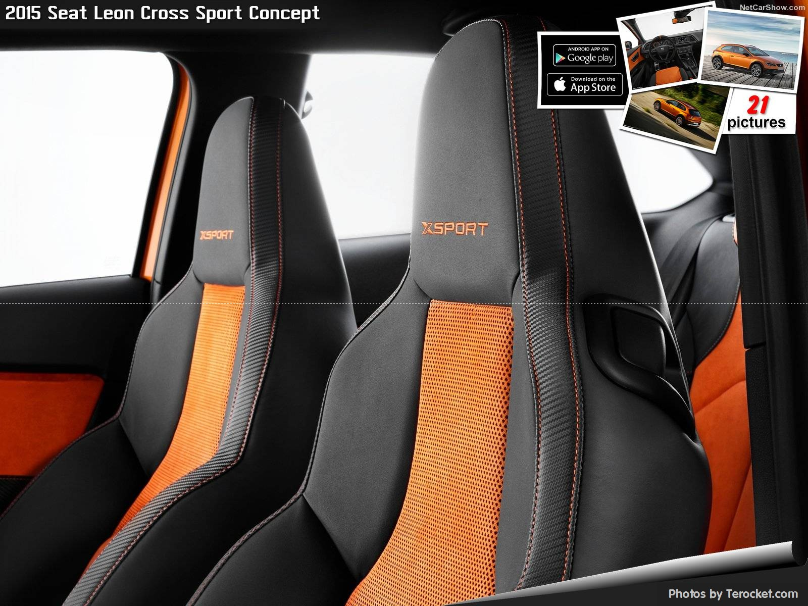 Hình ảnh xe ô tô Seat Leon Cross Sport Concept 2015 & nội ngoại thất