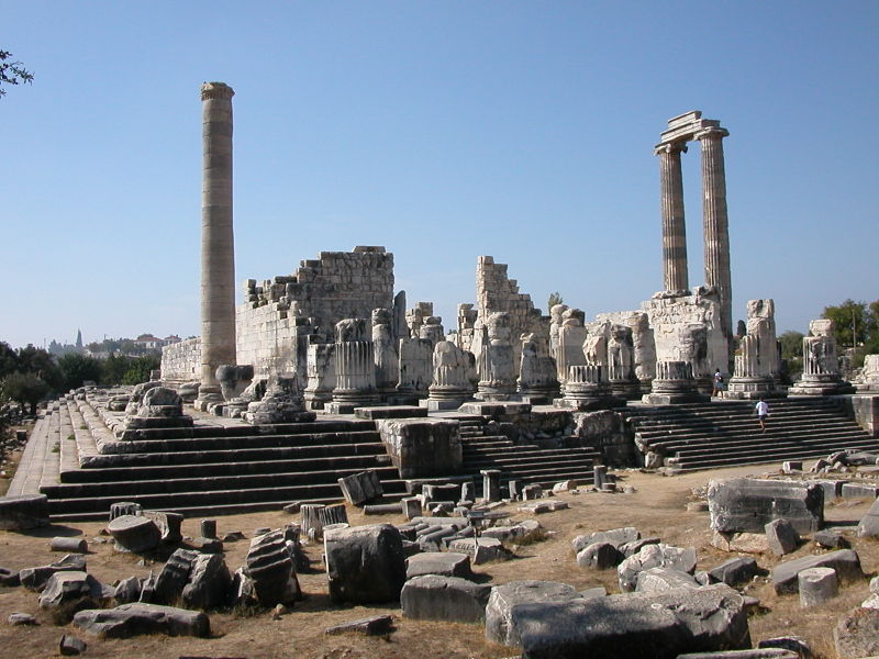 hellenic period: The Temple of Apollo at Didyma