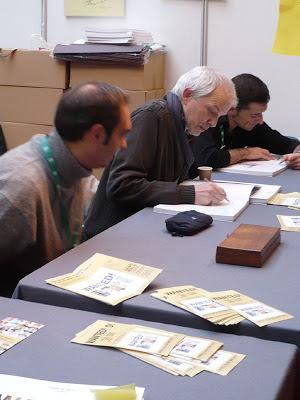 Avec Charles Da Costa et Jean-Marc Borot