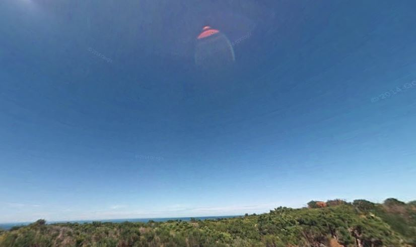 Platillo volante sobre Australia