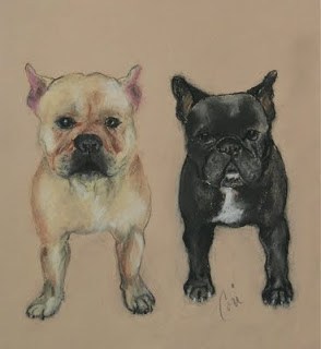 French Bulldog ARt By Cori Solomon