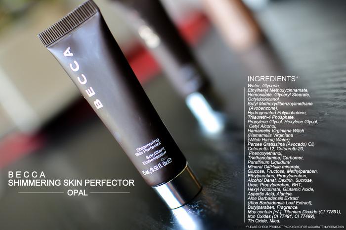 Becca Shimmering Skin Perfector Opal Liquid Highlighter Ingredients