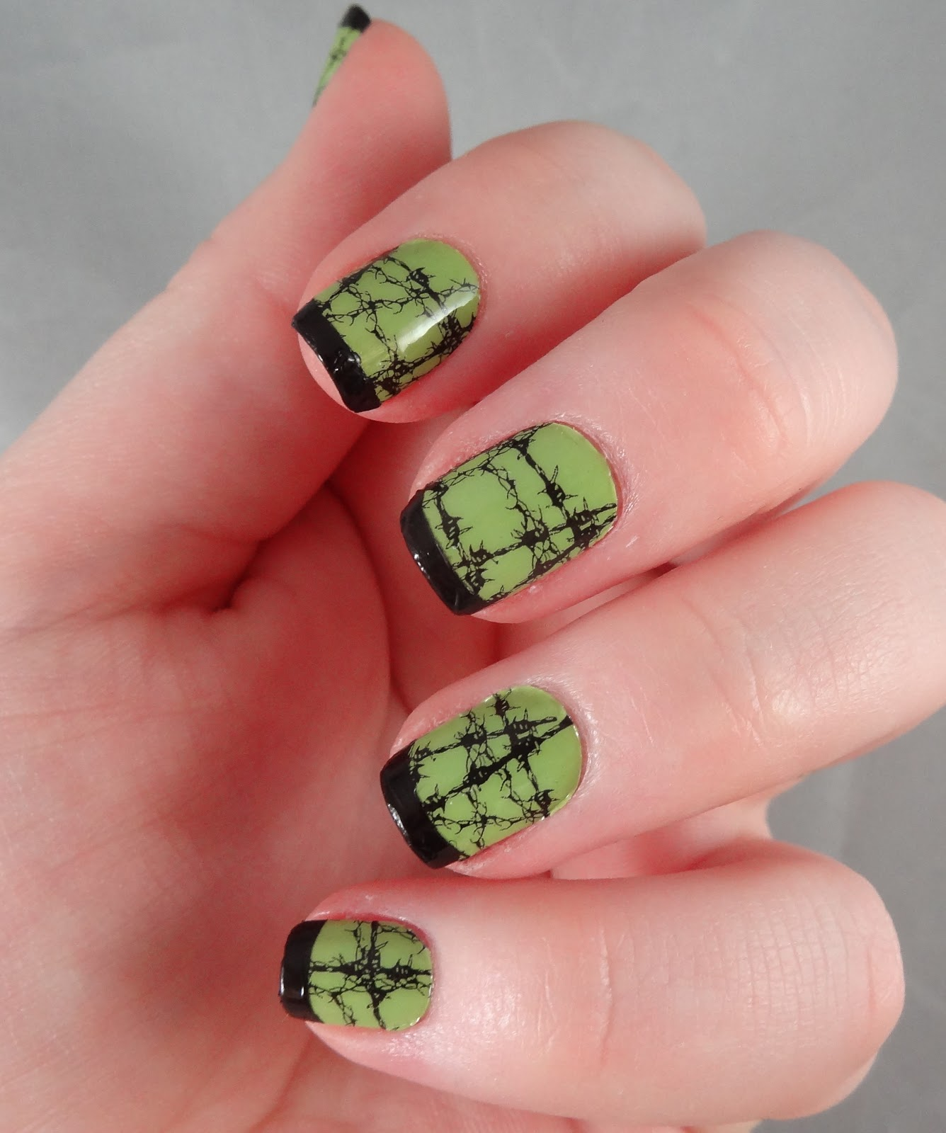 Adventures In Lalaland Hot Wired Halloween Nails