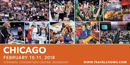 10 Will WIN a PAIR (2) OF TICKETS To The 2018 CHICAGO TRAVEL & ADVENTURE SHOW  ($30 Value)