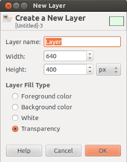 Gimp Create New Layer