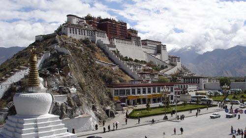 El Potala o templo de Lhasa