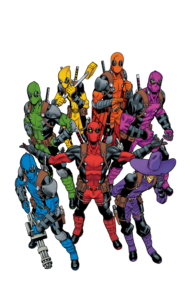 Mike Hawthorne Deadpool Rainbow Squad