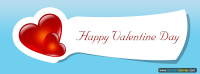 Happy Valentine Day Facebook Timeline Cover