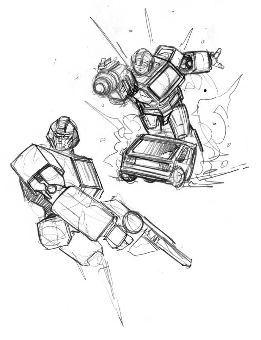 IronHide Transformers Coloring Pages 2011