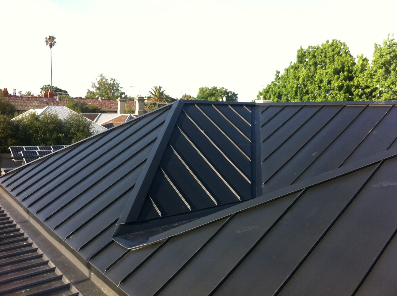 Standing Seam Roof From NedZinc