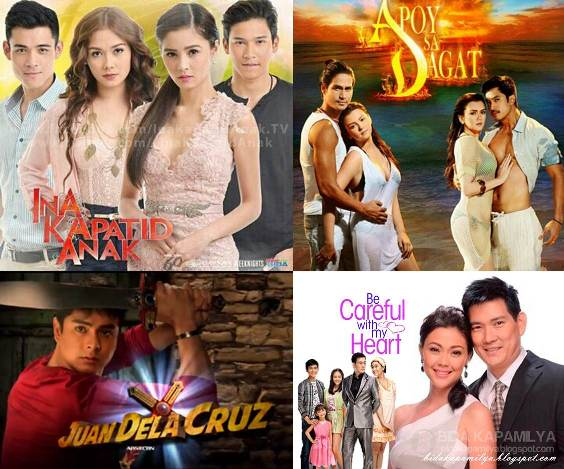 Ina Kapatid Anak, Apoy Sa Dagat, Juan Dela Cruz and Be Careful with My Heart: Consistent winners in TV ratings