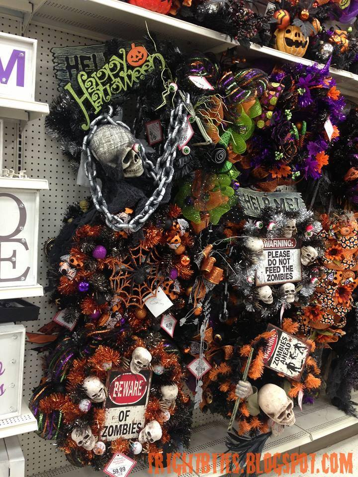 these halloween themed wreaths that michaels put together are very festive - Michaels Halloween Decorations
