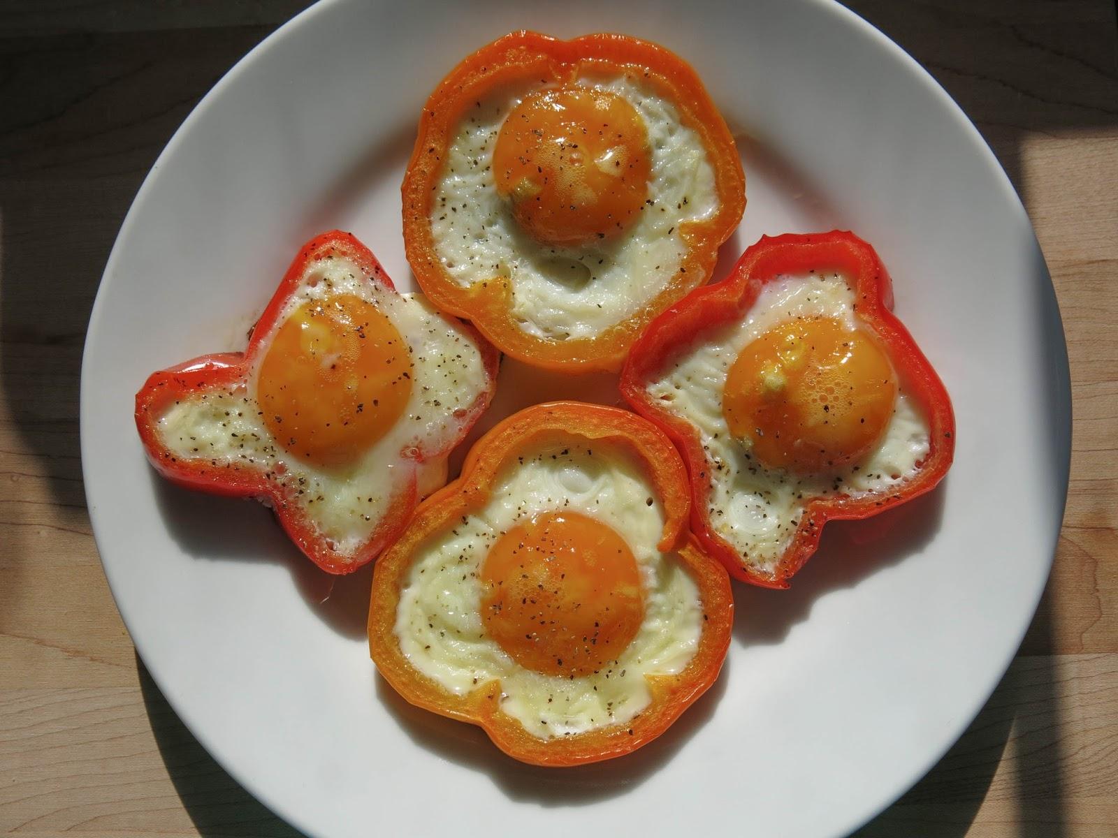 Egg and Veggie Flowers