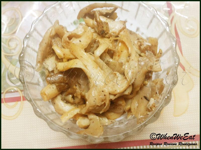 Oyster Mushroom Saute Recipe