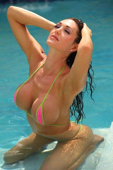 hot girls with micro bikini and big boobs
