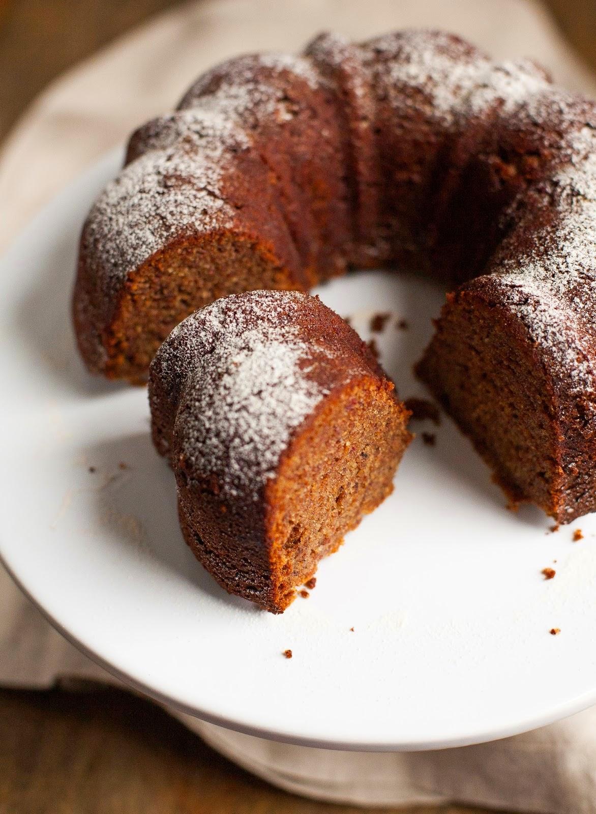 Featured Recipe | Cinnamon Hazelnut Date Cake from A Calculated Whisk #dessert #cake #recipe #SecretRecipeClub