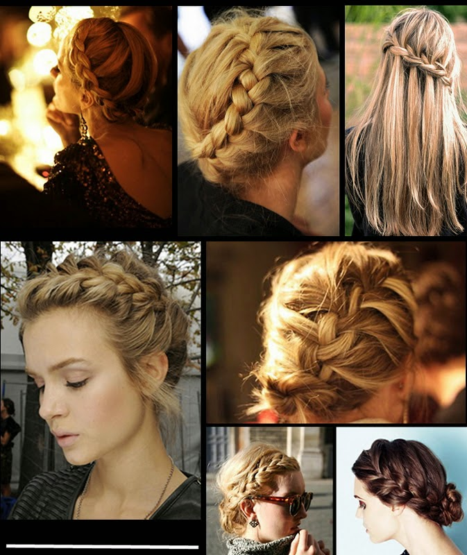 Dutch Braided Bang hairstyles