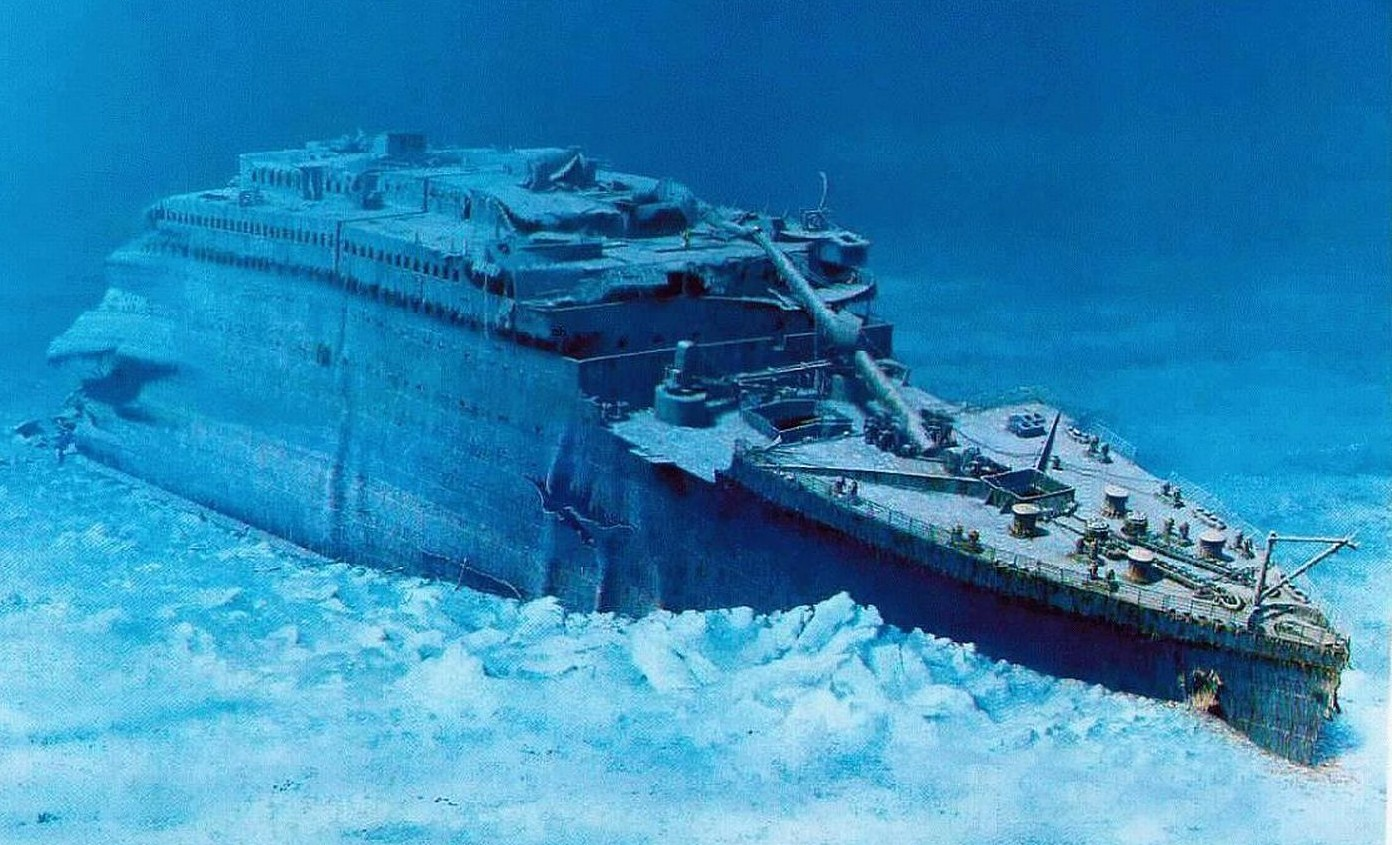 real underwater titanic pictures.  Underwater On Real Underwater Titanic Pictures P