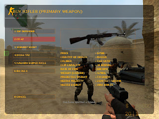 Download Point Blank AK47 Skin for Counter Strike: Source