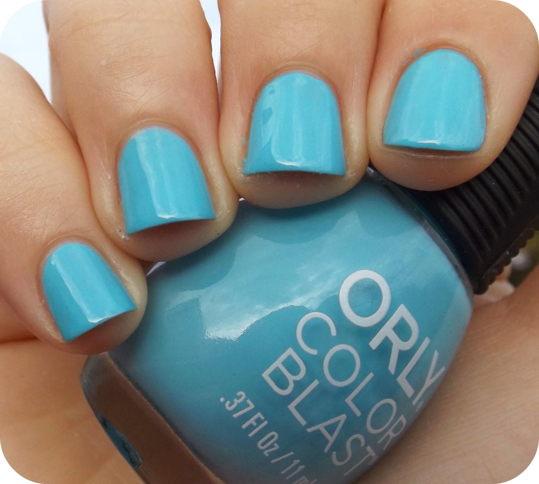 Nail Juice: Orly Aqua Neon