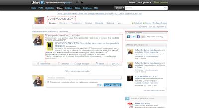 Una buena forma de dar a conocer nuestro producto es publicarlo en los Grupos de Linkedin que  estemos inscritos