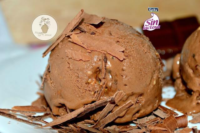 helado de chocolate sin lactosa