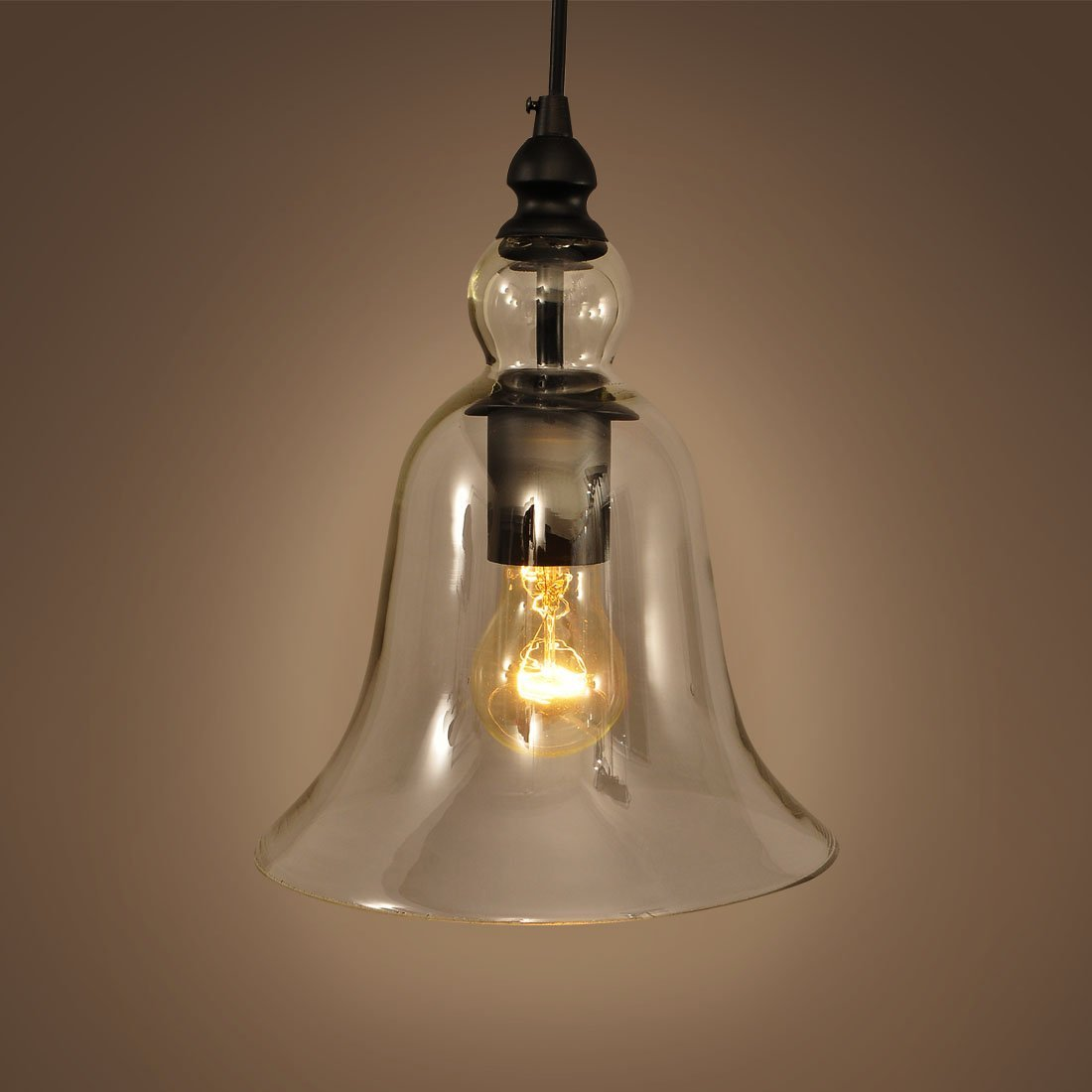 Industrial Bell Pendant Light: Linenandlavender.net: Lighting