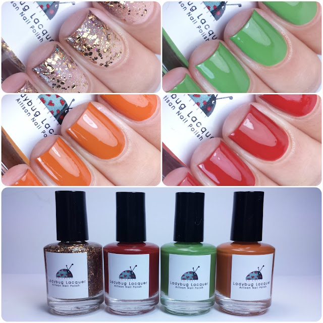Ladybug Lacquer - Autumn Cremes Collection
