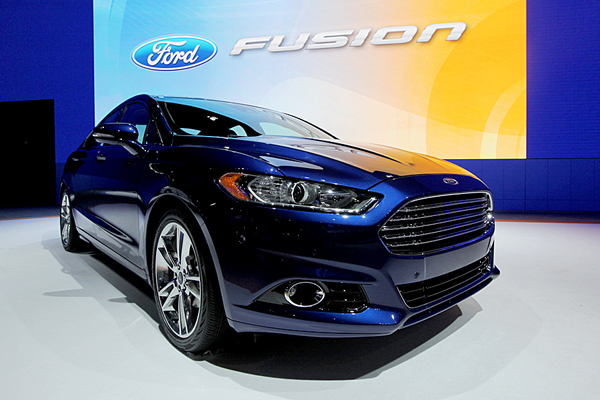 Minor Updates For 2014 Ford Fusion