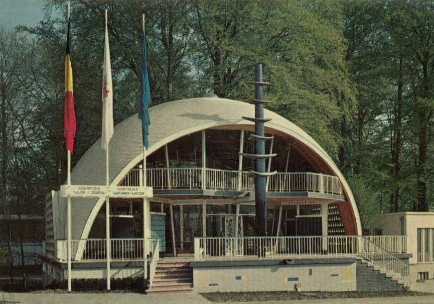Bruxelles restaurant expo 58 pavillon tuilier bontinck for Comptoir du meuble bruxelles