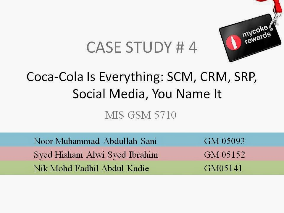 Coca-Cola Is Everything: SCM, CRM, Collaboration, You Name It