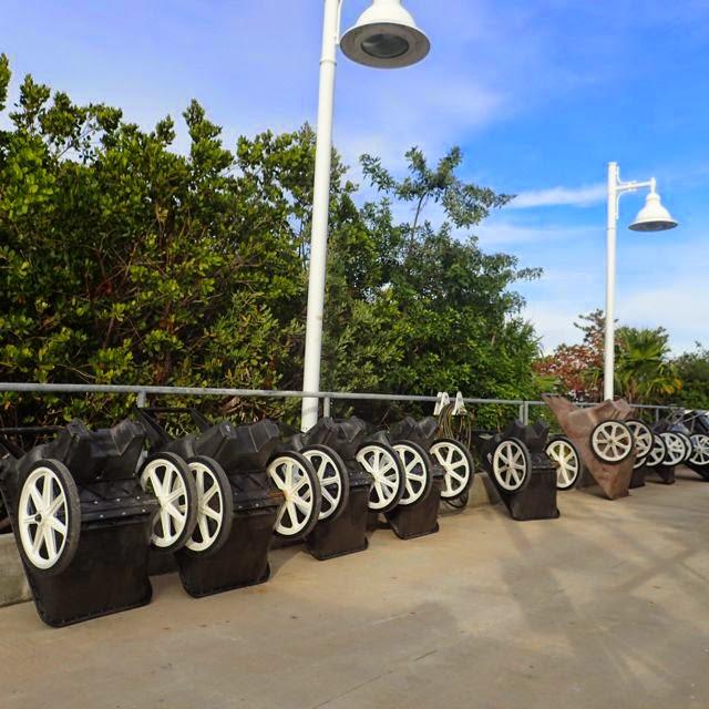 dock carts near key west florida