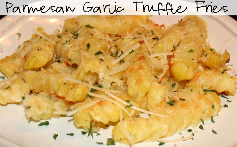 ... were truffle fries garlic truffle fries baked garlic truffle fries