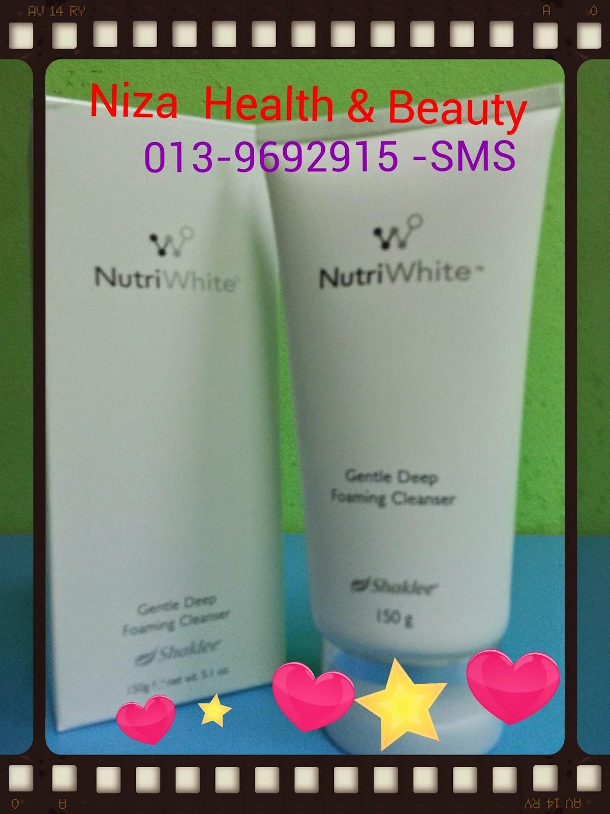 Nutriwhite Facial Cleanser Shaklee