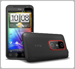 HTC smartphone 3D Evo, SMartphone, Reviews HTC Mobiles