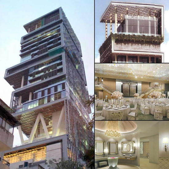 ... Of The World: Antilia world most expensive house for $ 1 billion