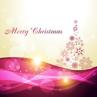 美しいクリスマスの背景 4種 beautiful christmas background vector イラスト素材3