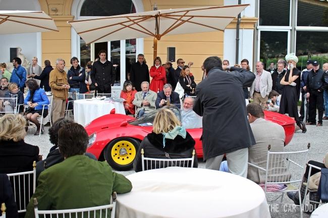 Concorso d'Eleganza 2013: Ferrari Dino 166P / 206P (1965)