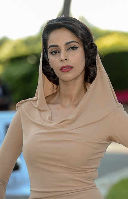 Mallika Sherawat nude dress