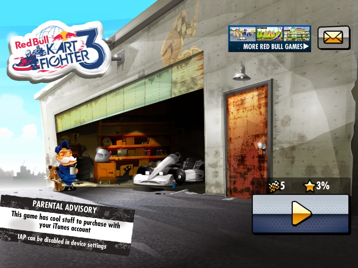 Red Bull Kart Fighter 3 v1.6.0 Mod [Unlimited Money]