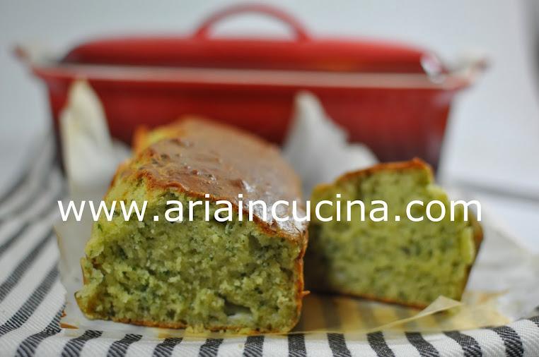 Blog di cucina di Aria: Cake al basilico e formaggio