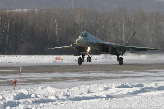Sukhoi T-50 PAK-FA