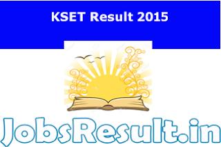 KSET Result 2015