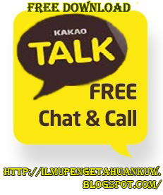 FREE DOWNLOAD APLIKASI KAKAO TALK UNTUK SEMUA TIPE HP