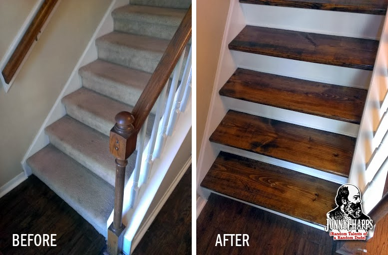 Take the carpet off those stairs!