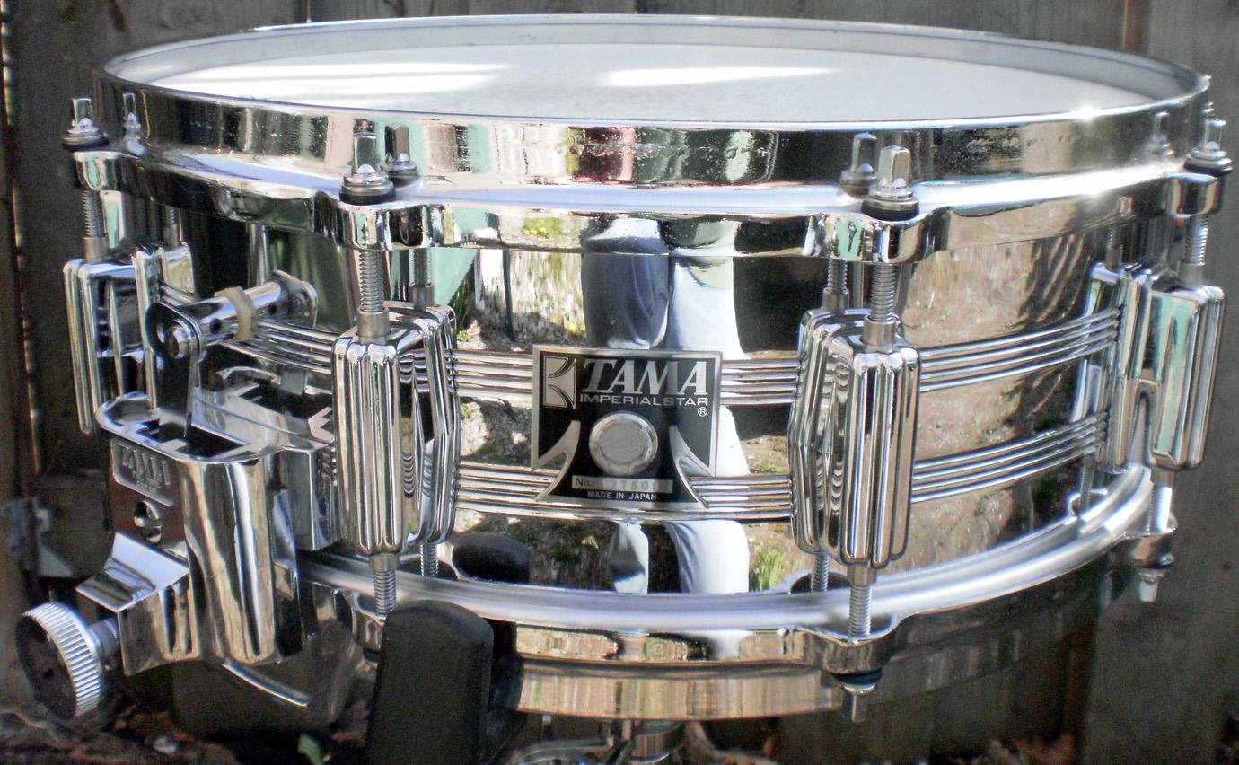 Tumbling Boulders Drums: Tama King Beats